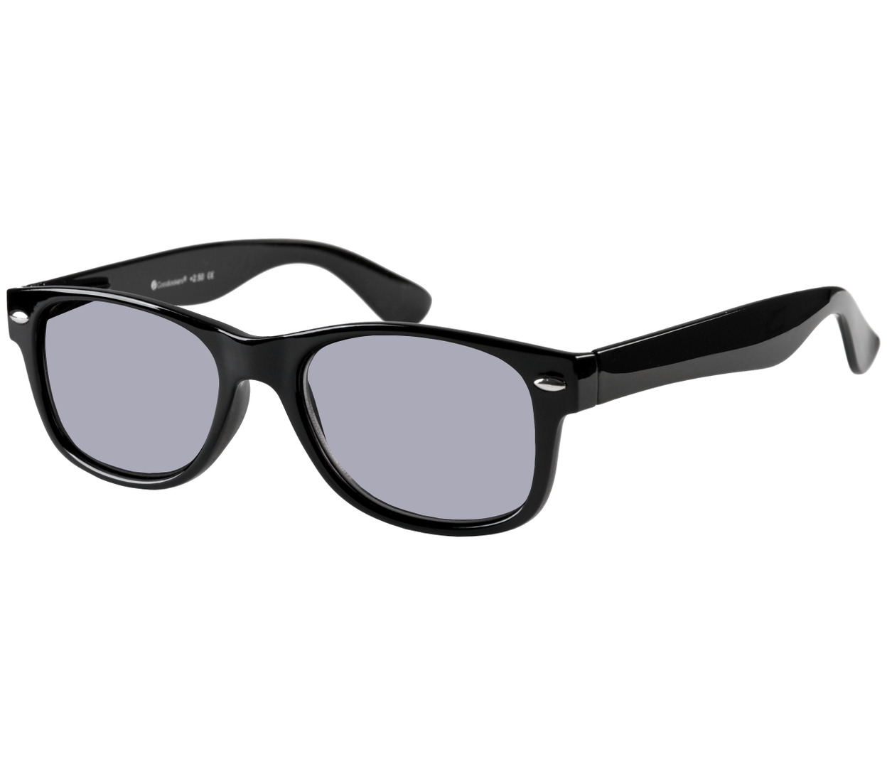 Dakota (Black) Wayfarer Sun Readers
