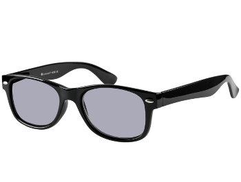 Dakota (Black) Wayfarer Sun Readers - Thumbnail Product Image