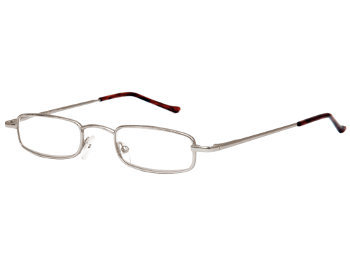 Metro (Silver) Tube Reading Glasses