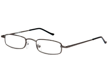 Metro (Gunmetal) Slimline Reading Glasses