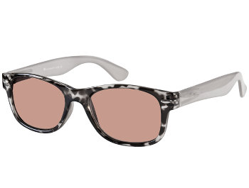 Dakota (Grey) Wayfarer Sun Readers