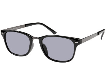 Frankie (Black) Retro Sun Readers