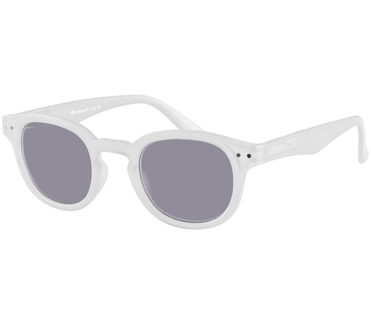 Main Image (Angle) - Holiday (White) Sun Readers