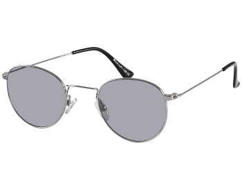 Bakerloo (Silver) Retro Sun Readers