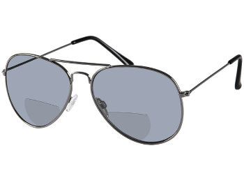 Houston (Gunmetal) Bifocal Sun Readers