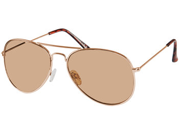 Ace (Gold) Aviator Sun Readers