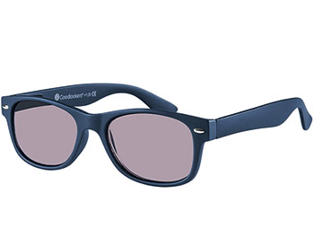 Dakota (Blue) Wayfarer Sun Readers - Thumbnail Product Image