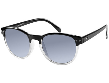 Newhaven (Black) Retro Sunglasses - Thumbnail Product Image