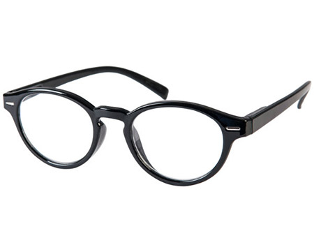 Espresso (Black) Retro Reading Glasses - Thumbnail Product Image