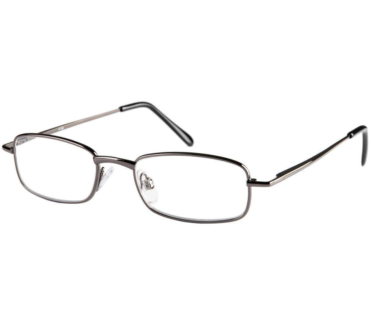 Main Image (Angle) - Shuffle (Gunmetal) Classic Reading Glasses