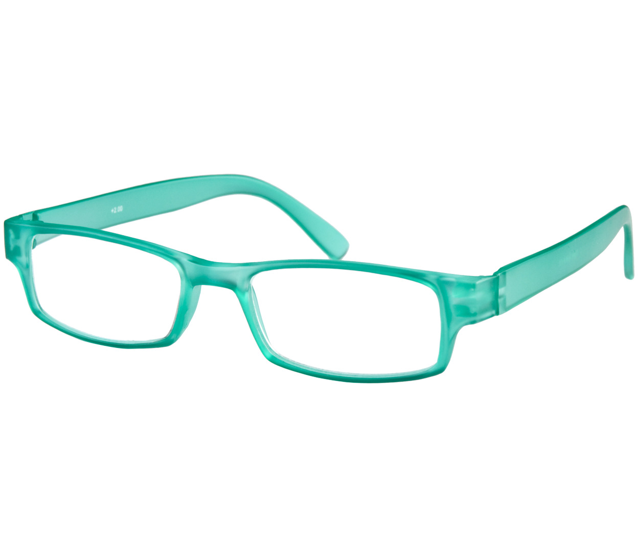 Main Image (Angle) - Friski (Turquoise) Classic Reading Glasses