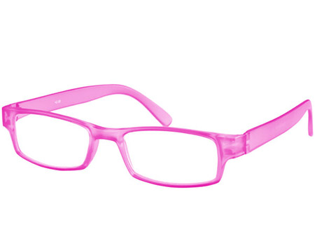 Friski (Pink) Classic Reading Glasses - Thumbnail Product Image