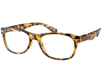 Harper (Tortoiseshell) Retro Reading Glasses - Thumbnail Product Image