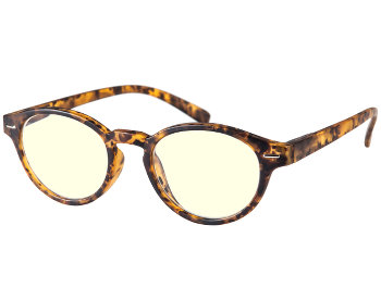 Jet (Tortoiseshell) Computer Glasses Reading Glasses