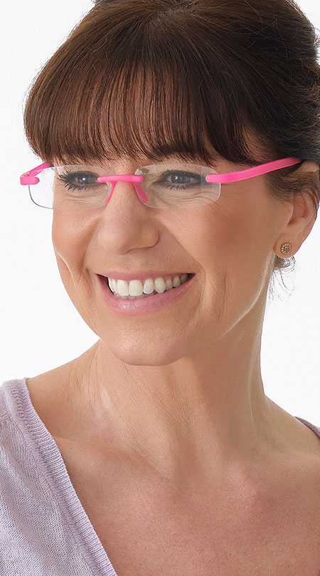 Jelli Neon (Pink) - Shown on Model