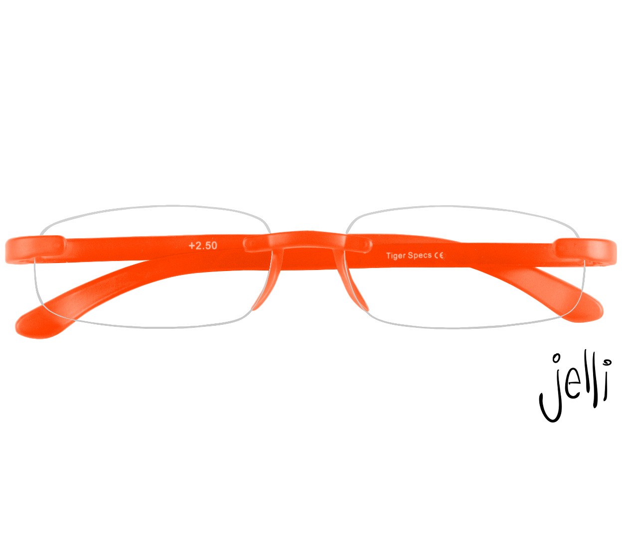 Folded - Jelli Neon (Orange)
