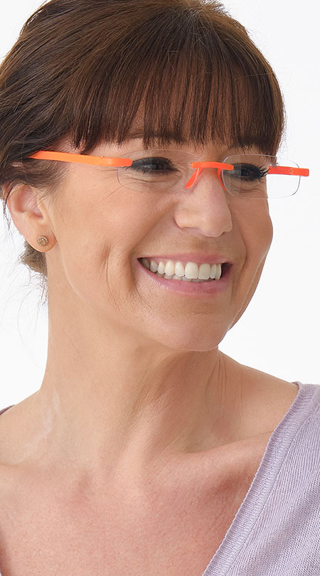 Jelli Neon (Orange) - Shown on Model