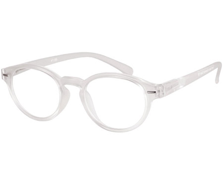 Espresso (Clear) Retro Reading Glasses - Thumbnail Product Image