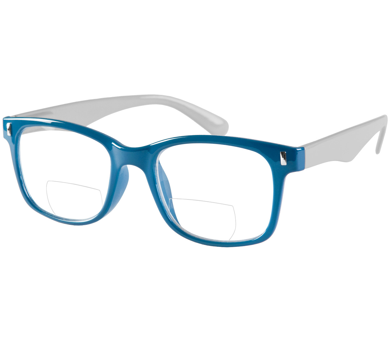 Main Image (Angle) - Otter (Blue) Bifocal Reading Glasses