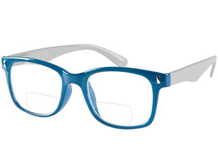 Otter (Blue) Bifocal Reading Glasses - Thumbnail Product Image