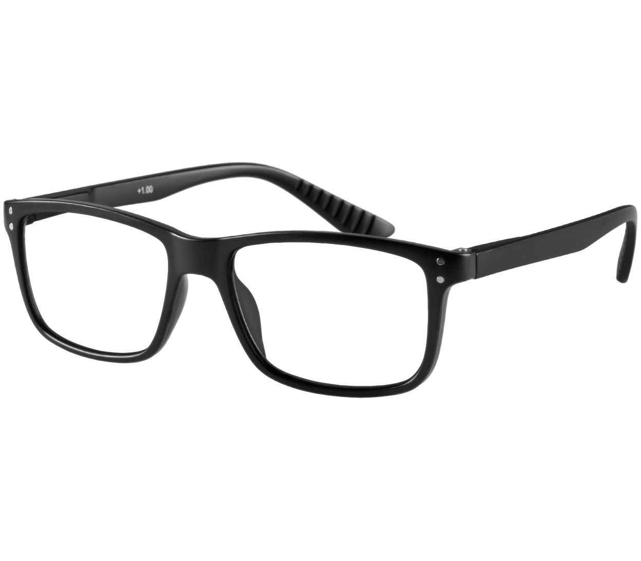 Main Image (Angle) - Dexter (Black) Classic Reading Glasses