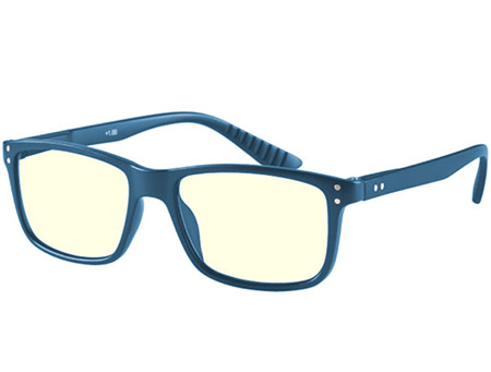 Austin (Blue) Computer Glasses Reading Glasses - Thumbnail Product Image