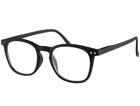Scholar (Black) Retro Reading Glasses - Thumbnail Product Image