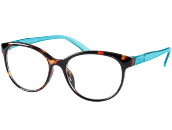 Lala (Blue) Cat Eye Reading Glasses - Thumbnail Product Image
