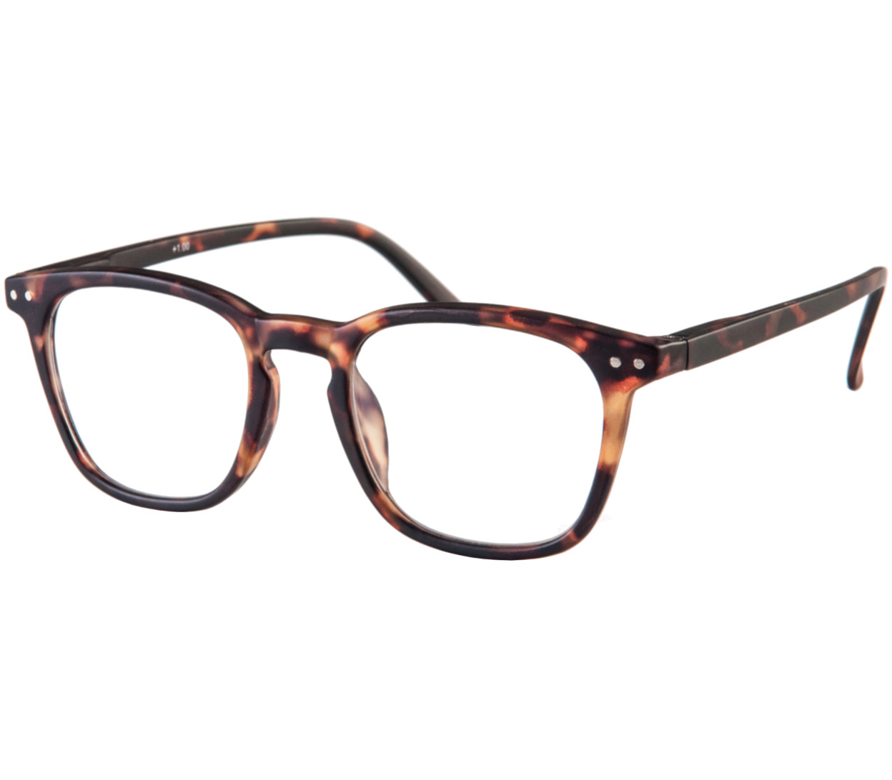 Main Image (Angle) - Scholar (Tortoiseshell) Reading Glasses