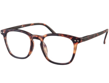 Scholar (Tortoiseshell) Retro Reading Glasses - Thumbnail Product Image