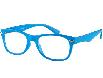 Harper (Blue) Retro Reading Glasses - Thumbnail Product Image