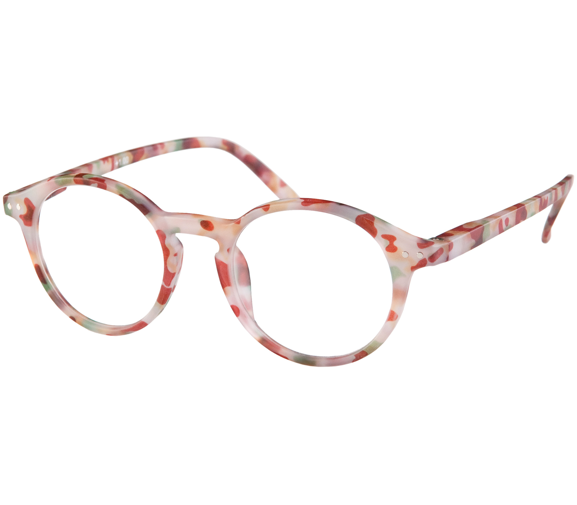 Main Image (Angle) - Oskar (Multi Tortoise) Reading Glasses