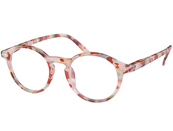 Oskar (Multi Tortoise) Retro Reading Glasses - Thumbnail Product Image