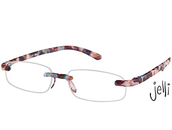 Jelli (Multi Tortoise) Rimless Reading Glasses - Thumbnail Product Image
