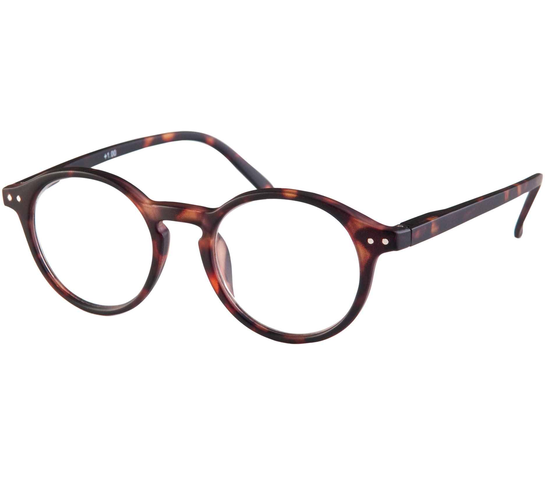 Main Image (Angle) - Oskar (Tortoiseshell) Retro Reading Glasses