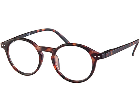 Oskar (Tortoiseshell) Retro Reading Glasses - Thumbnail Product Image