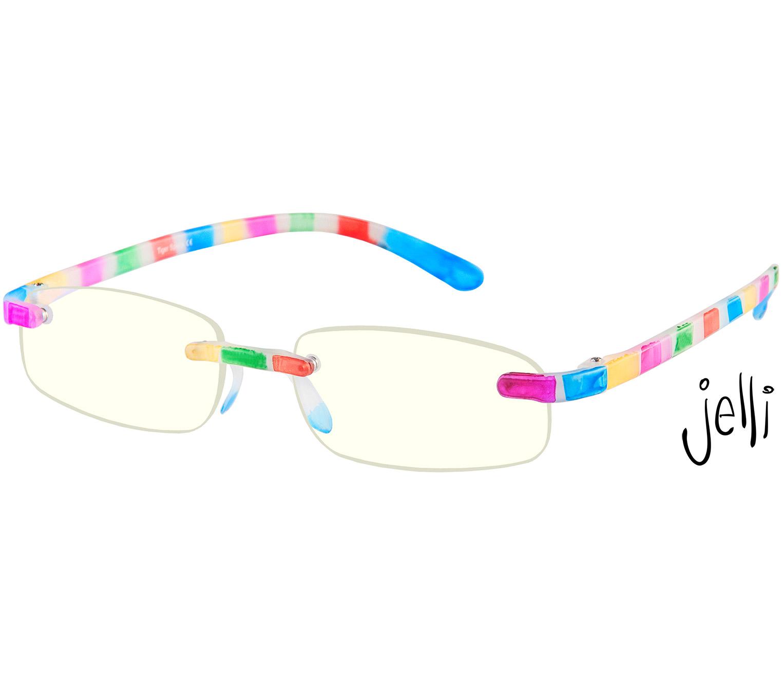 Main Image (Angle) - Jelli Digital (Multi-coloured) Computer Glasses Reading Glasses