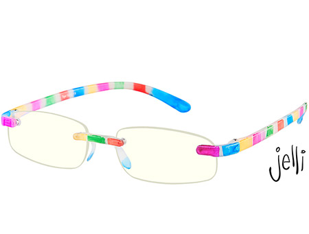 Jelli Digital (Multi-coloured) Computer Glasses Reading Glasses - Thumbnail Product Image