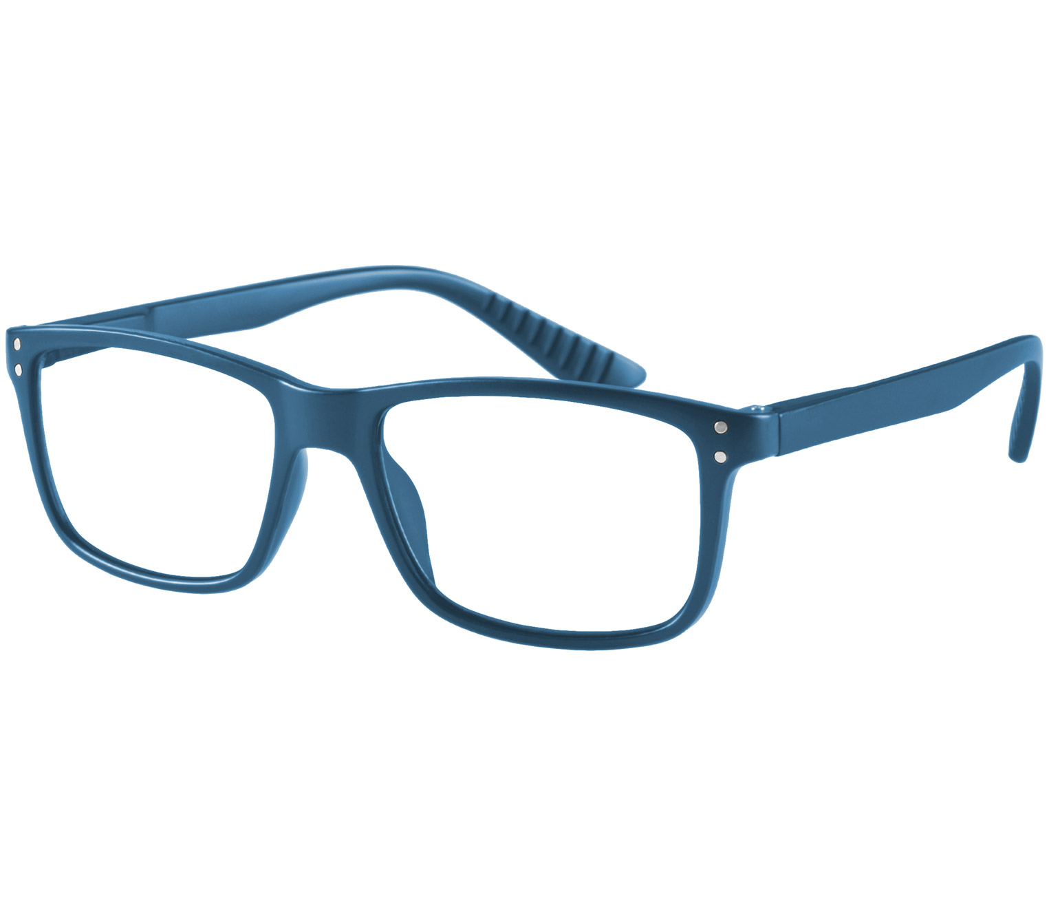 Main Image (Angle) - Dexter (Blue) Classic Reading Glasses