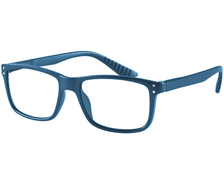Dexter (Blue) Classic Reading Glasses - Thumbnail Product Image