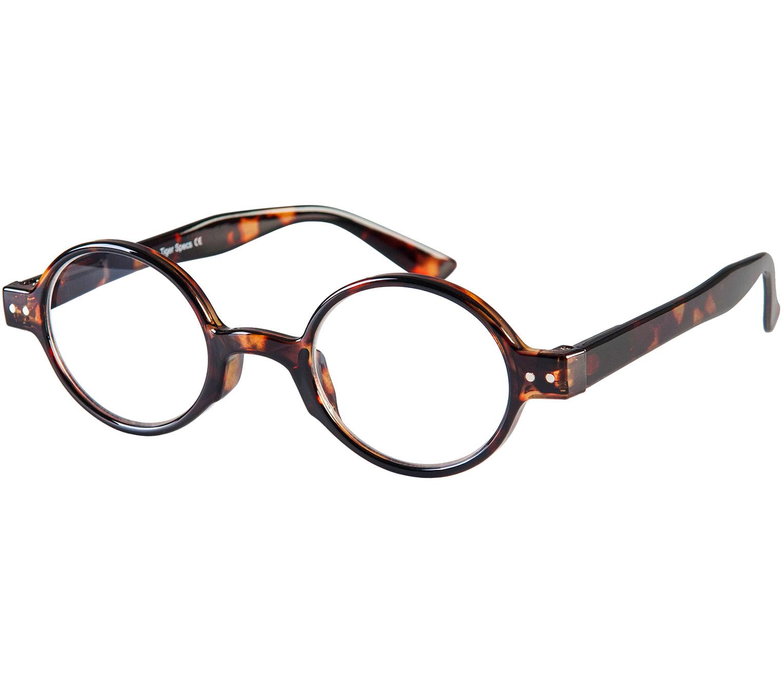 Main Image (Angle) - Woodstock (Tortoiseshell) Retro Reading Glasses