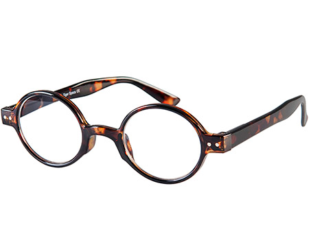 Woodstock (Tortoiseshell) Retro Reading Glasses - Thumbnail Product Image