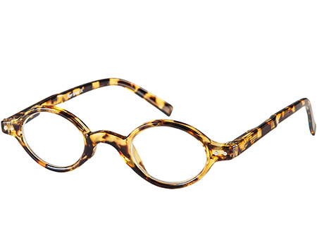 Chelsea (Tortoiseshell) Retro Reading Glasses - Thumbnail Product Image