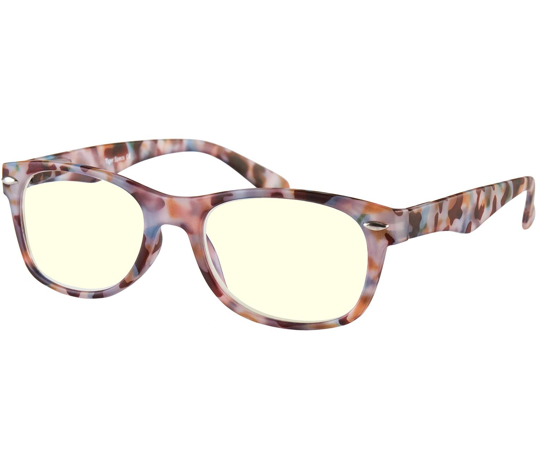 Main Image (Angle) - Network (Multi Tortoise) Computer Glasses Reading Glasses