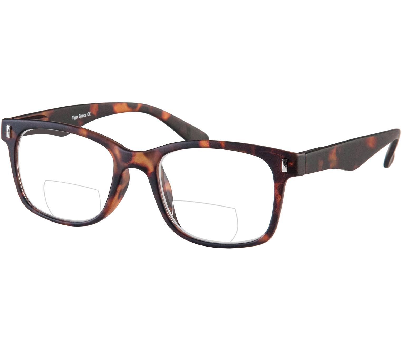 Main Image (Angle) - Otter (Tortoiseshell) Bifocal Reading Glasses