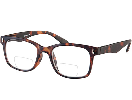 Otter (Tortoiseshell) Bifocal Reading Glasses - Thumbnail Product Image