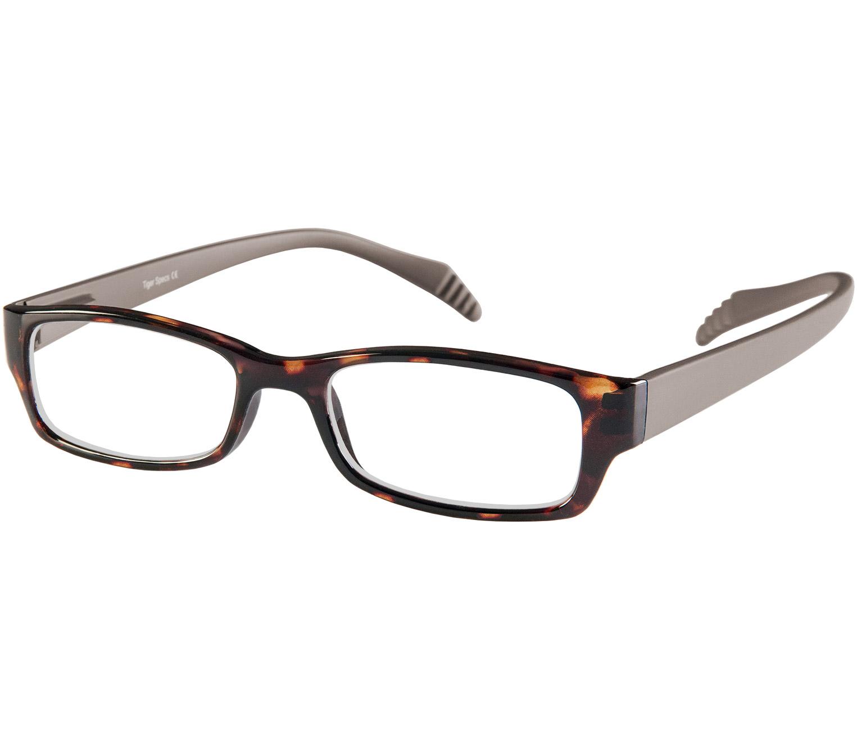 Main Image (Angle) - Biscuit (Tortoiseshell) Neck Hanging Reading Glasses
