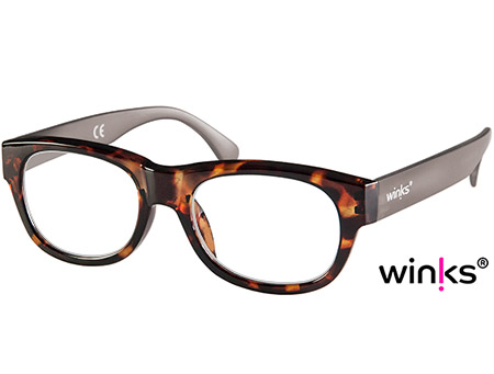 Max (Tortoiseshell) Retro Reading Glasses - Thumbnail Product Image