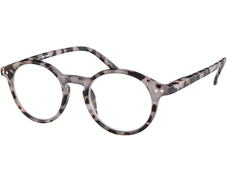 Oskar (Grey Tortoise) Retro Reading Glasses - Thumbnail Product Image