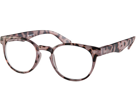Fairfax (Grey Tortoise) Retro Reading Glasses - Thumbnail Product Image
